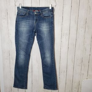 Lucky Brand Zoe Straight Mid Rise Jeans
